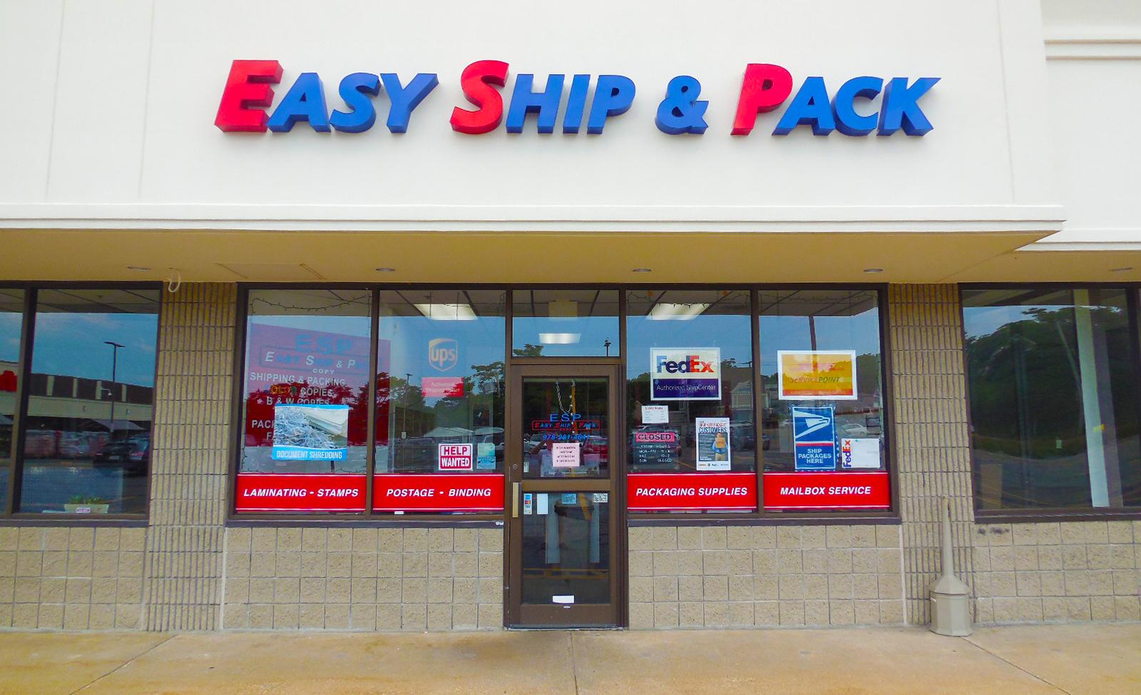 Easy Ship & Pack Gloucester Massachusetts Easy Ship & Pack